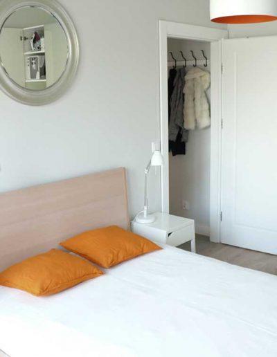 MIeszkanie na wynajem - widok sypialni